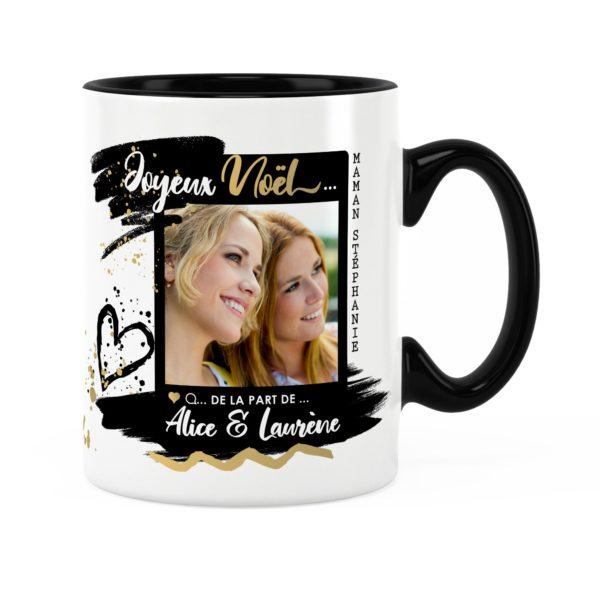 Cadeau maman pour noël | Idée cadeau mug photo et prénom