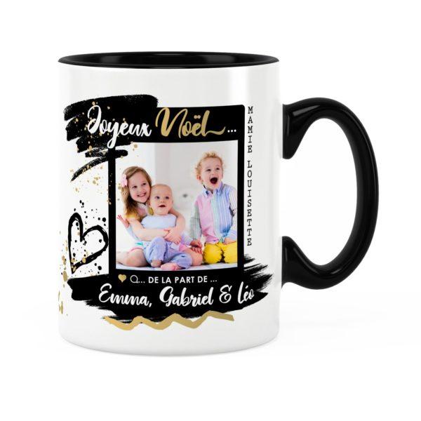Cadeau mamie pour noël | Idée cadeau mug photo et prénom