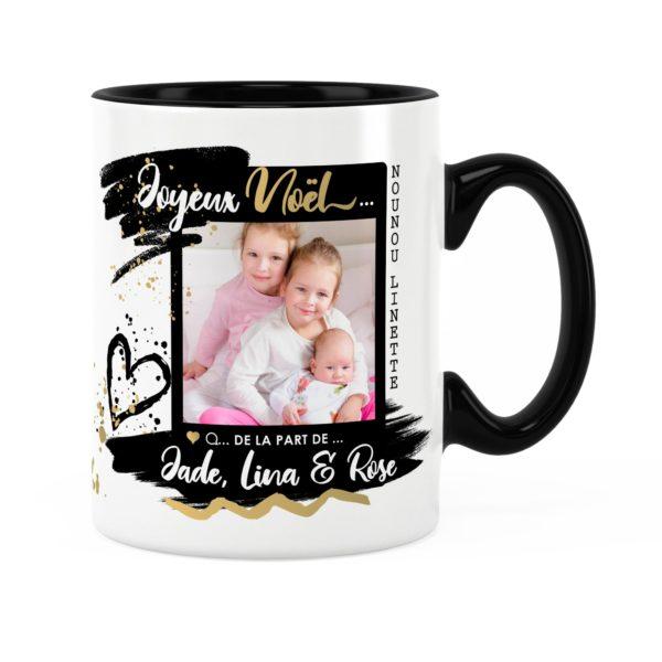 Cadeau nounou pour noël | Idée cadeau mug photo et prénom