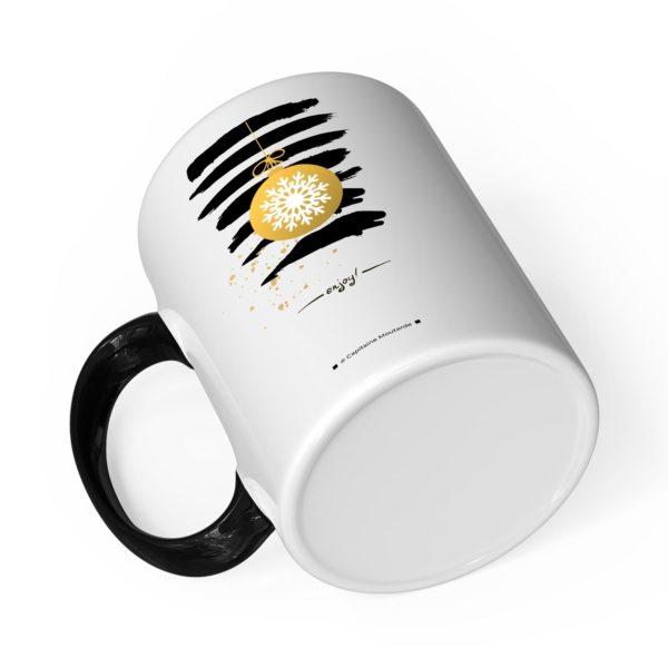 Cadeau papa pour noël | Idée cadeau mug prénom et photo