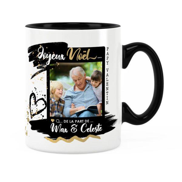 Cadeau papy pour noël | Idée cadeau mug photo et prénom