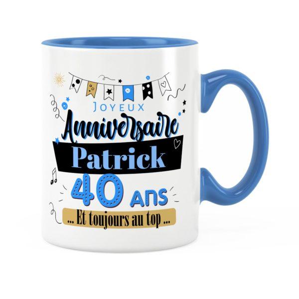 Cadeau anniversaire | Idée cadeau mug prénom anniversaire