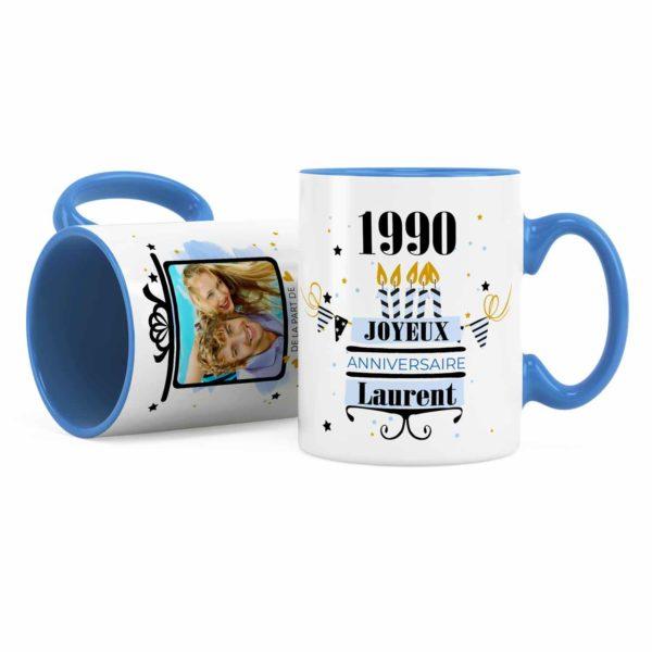 mug personnalisé anniversaire