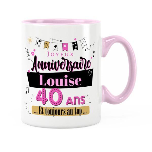 Cadeau anniversaire | Idée cadeau mug anniversaire pour fille