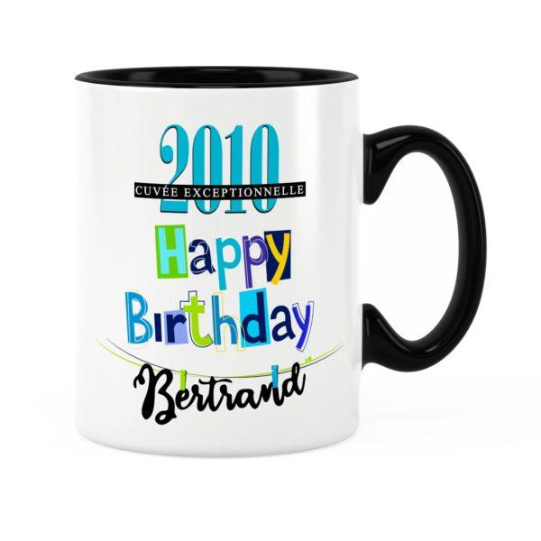 Cadeau anniversaire | Idée cadeau mug anniversaire garçon