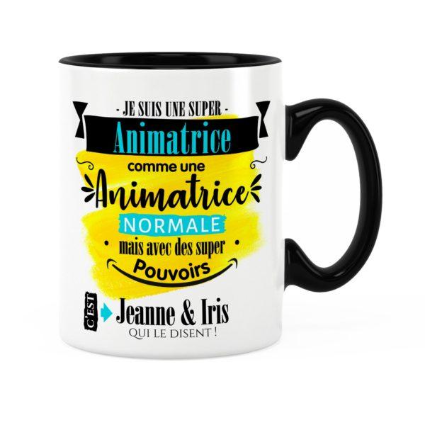Cadeau animatrice | Idée cadeau de mug super animatrice