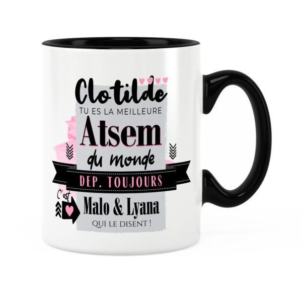 Cadeau pour atsem | Idée cadeau de mug meilleure atsem