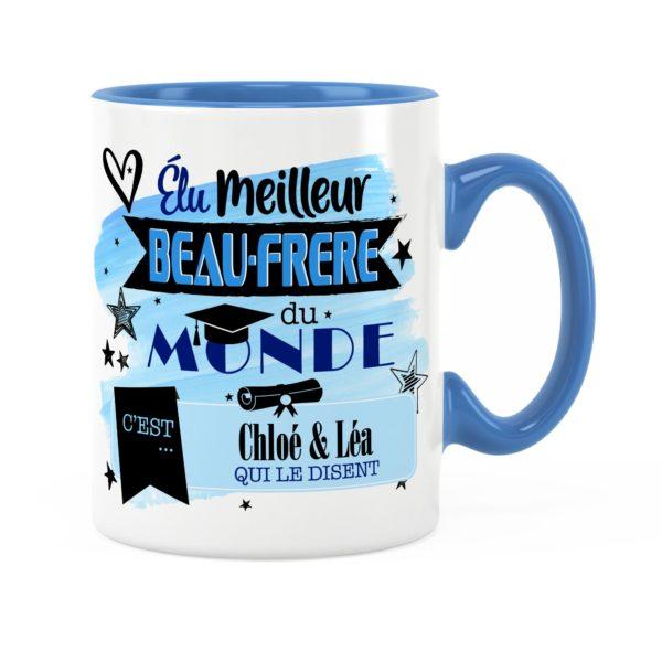 Cadeau beau-frère | Idée cadeau de mug meilleur beau-frère