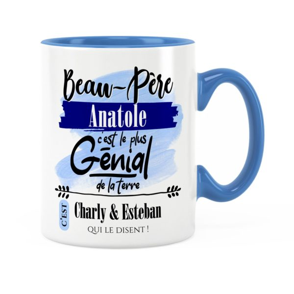 Cadeau beau-père | Idée cadeau de mug beau-père génial