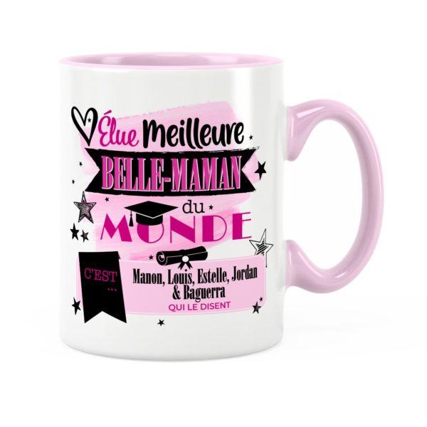 Cadeau belle-mère   Idée cadeau mug belle-mère avec prénom