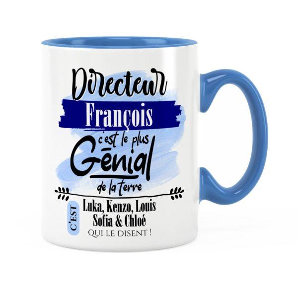 Cadeau directeur | Idée cadeau mug prénom directeur génial