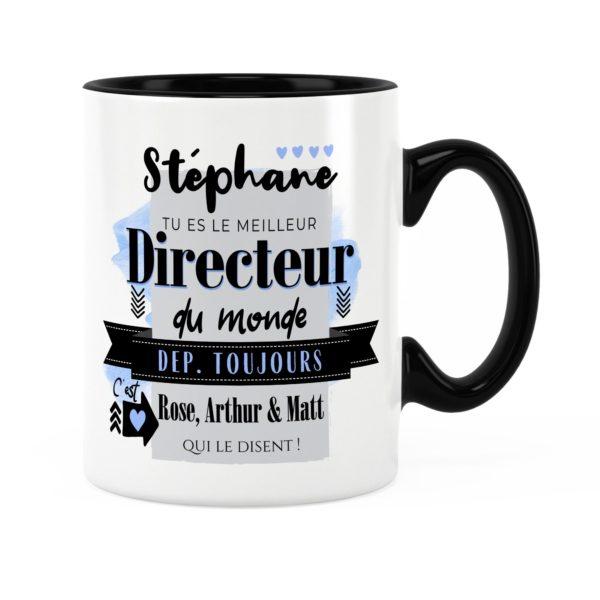 Cadeau pour directeur | Idée cadeau mug meilleur directeur