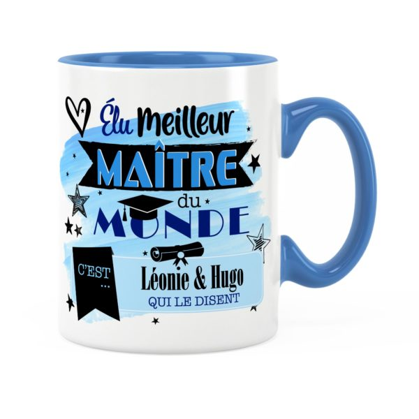 Cadeau maître | Idée cadeau mug meilleur maître du monde