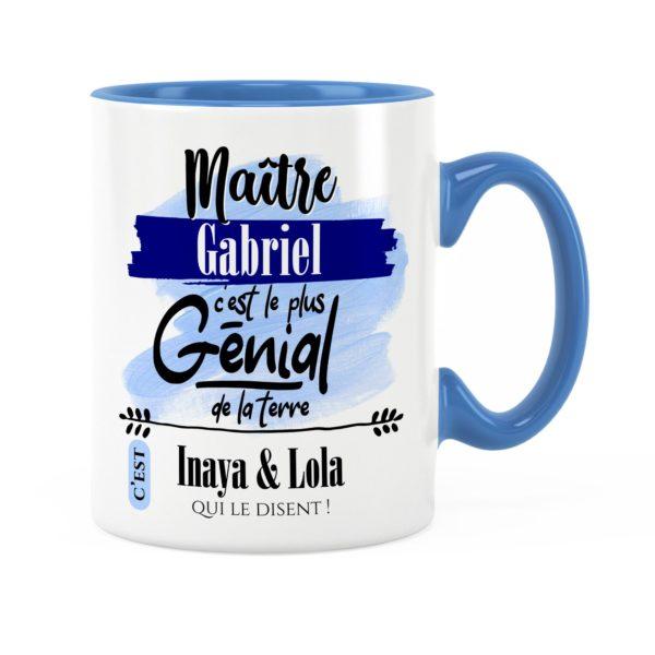 Cadeau maître | Idée cadeau de mug prénom maître génial