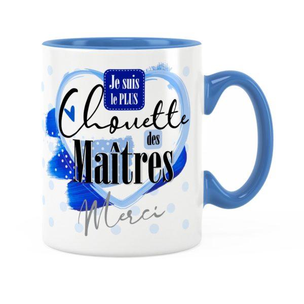 Cadeau maître | Idée cadeau mug prénom chouette maître