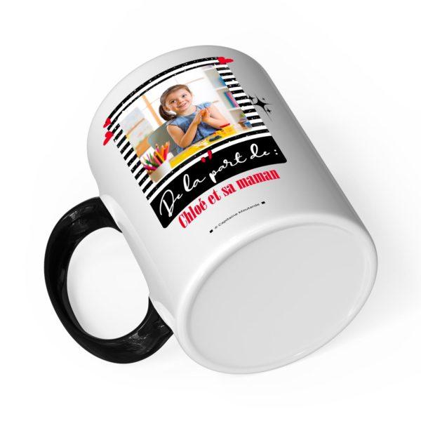 Cadeau maîtresse | Idée cadeau mug joyeux noël avec prénom