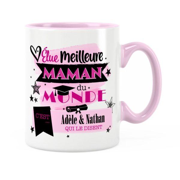 Cadeau maman | Idée cadeau mug meilleure maman du monde