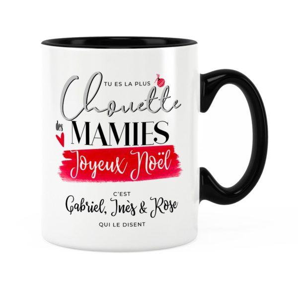 Cadeau noël pour mamie | Idée cadeau mug noël avec prénom