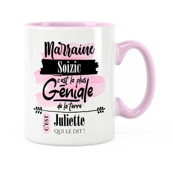 Cadeau marraine | Idée cadeau mug prénom marraine géniale