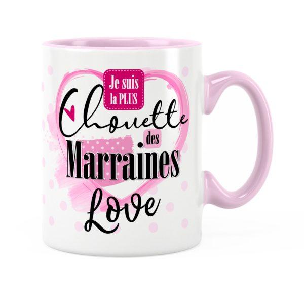 Cadeau marraine | Idée cadeau mug la plus chouette marraine