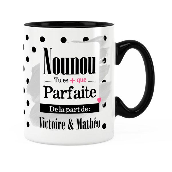 Cadeau nounou | Idée cadeau mug prénom nounou parfaite