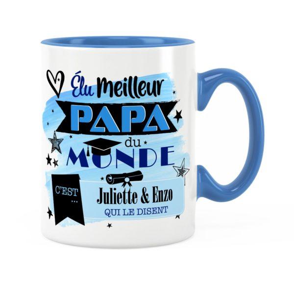Cadeau papa | Idée cadeau de mug prénom meilleur papa