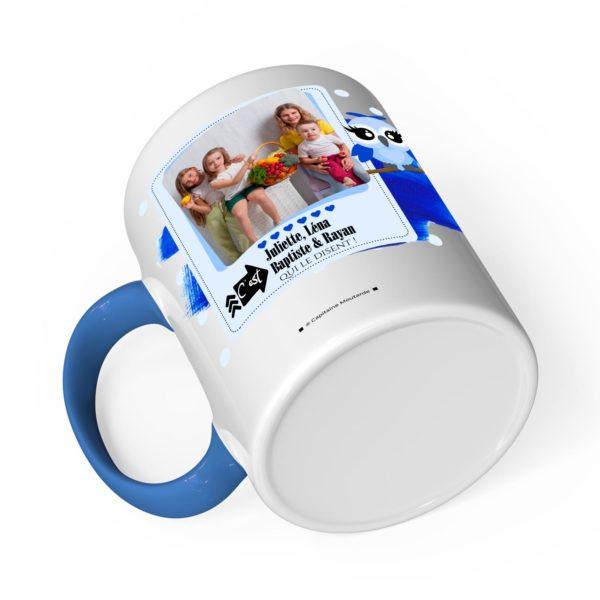 Cadeau papa | Idée cadeau de mug prénom chouette papa