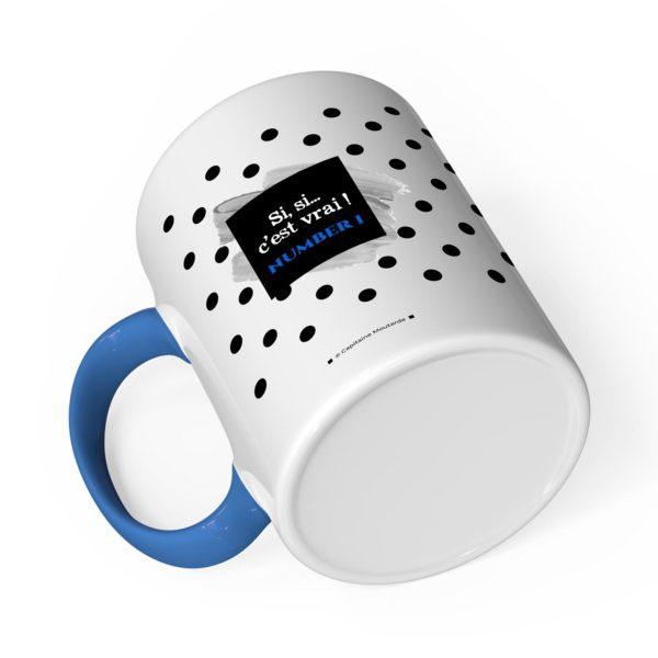 Cadeau papa | Idée cadeau mug avec prénom papa parfait