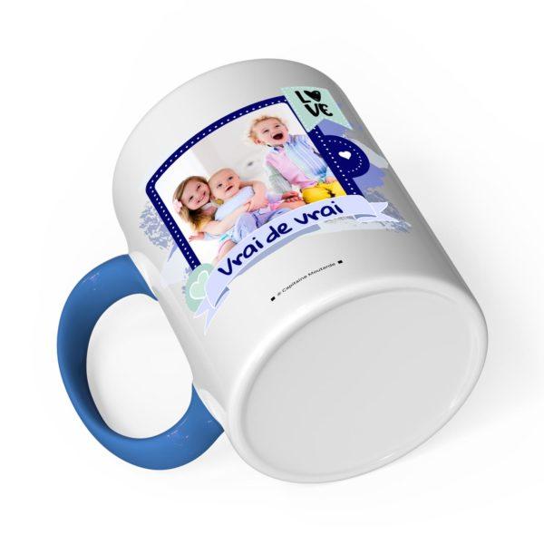 Cadeau papa | Idée cadeau de mug prénom papa il déchire