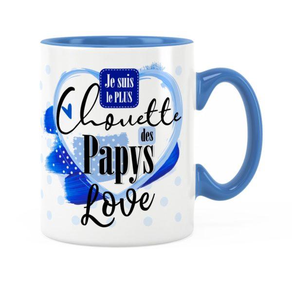 Cadeau papy | Idée cadeau de mug prénom chouette papy