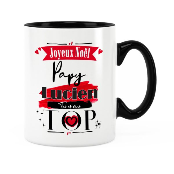 Cadeau papy   Idée cadeau mug joyeux noël avec prénom