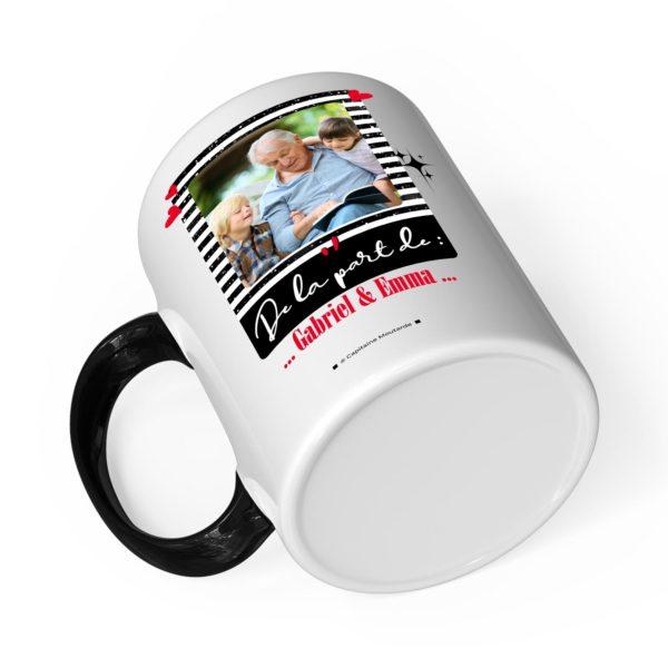 Cadeau papy | Idée cadeau mug joyeux noël avec prénom