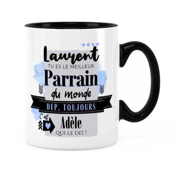 Cadeau pour parrain | Idée cadeau de mug meilleur parrain