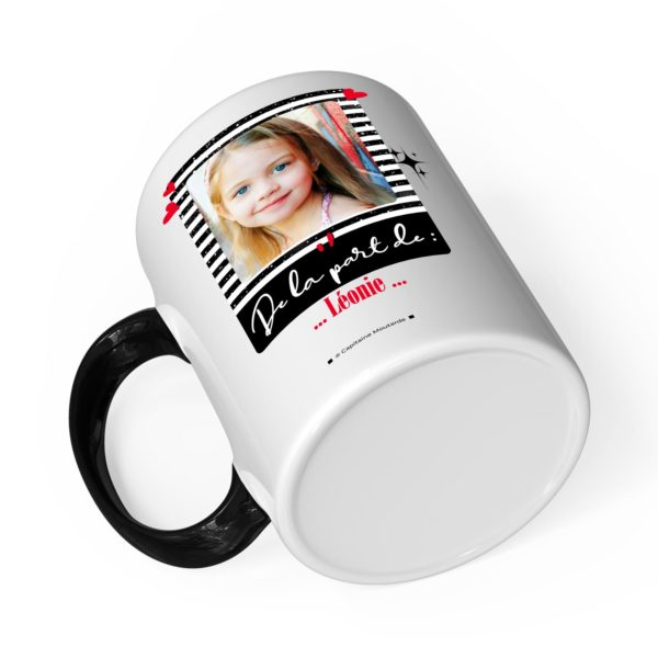 Cadeau parrain | Idée cadeau mug joyeux noël avec prénom