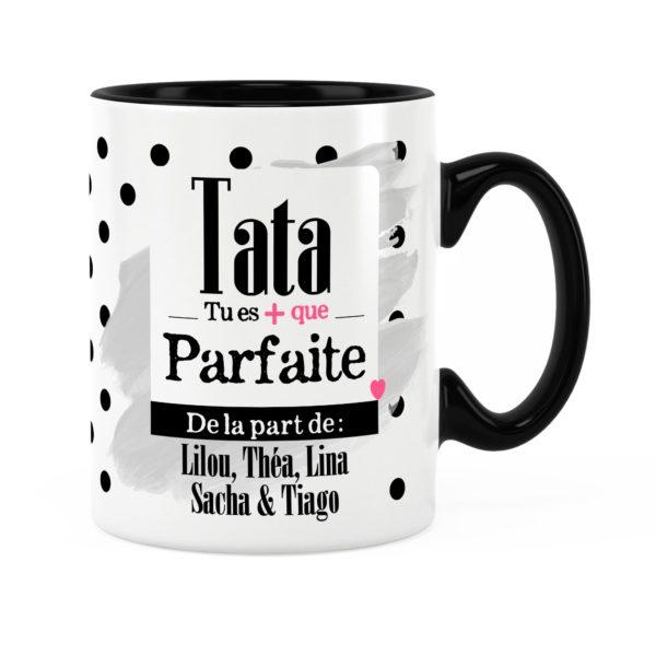 Cadeau tata | Idée cadeau mug prénom tata elle est parfaite
