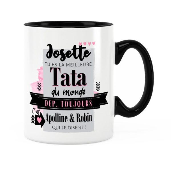 Cadeau tata | Idée cadeau mug avec prénom meilleure tata