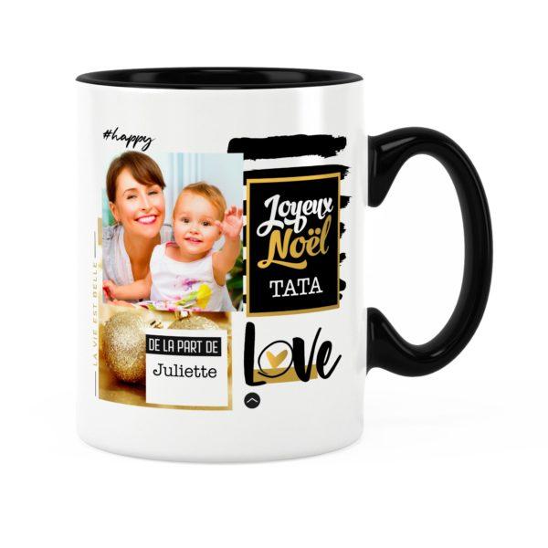 Cadeau tata pour noël | Idée cadeau mug prénom et photo