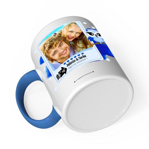 Cadeau tonton | Idée cadeau mug prénom chouette tonton