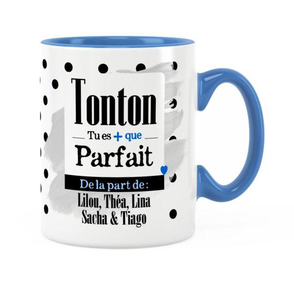Cadeau tonton | Idée cadeau de mug prénom tonton parfait