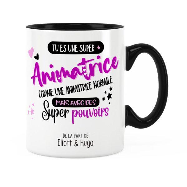 Idée cadeau animatrice | Mug animatrice avec des super pouvoirs