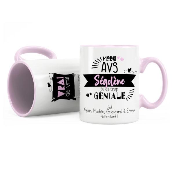 Cadeau pour avs   Cadeau mug avs tu es trop géniale