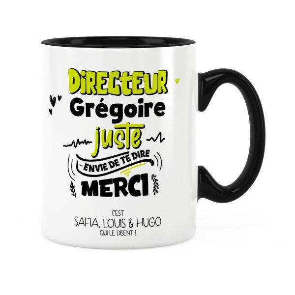 Cadeau directeur | Idée cadeau mug pour directeur te dire merci