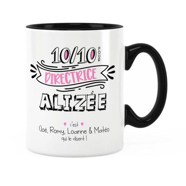 Cadeau directrice | Idée cadeau de mug pour directrice 10/10