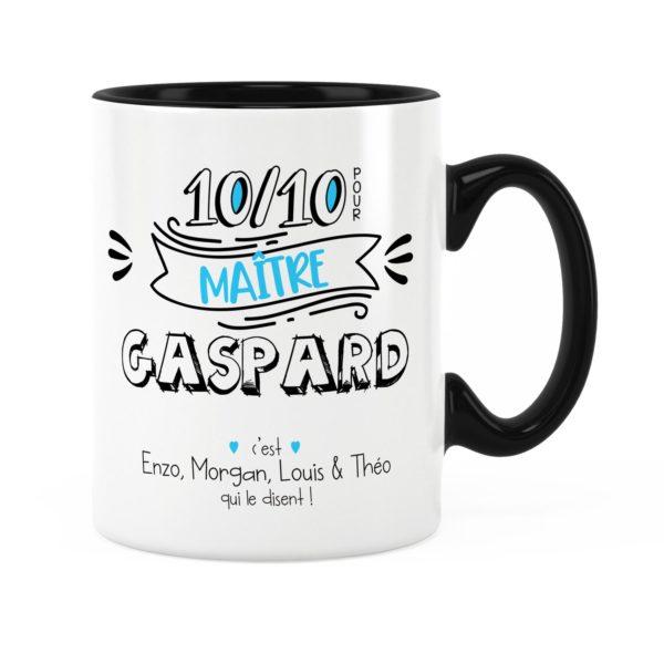 Cadeau pour maître   Idée cadeau de mug pour maître 10/10