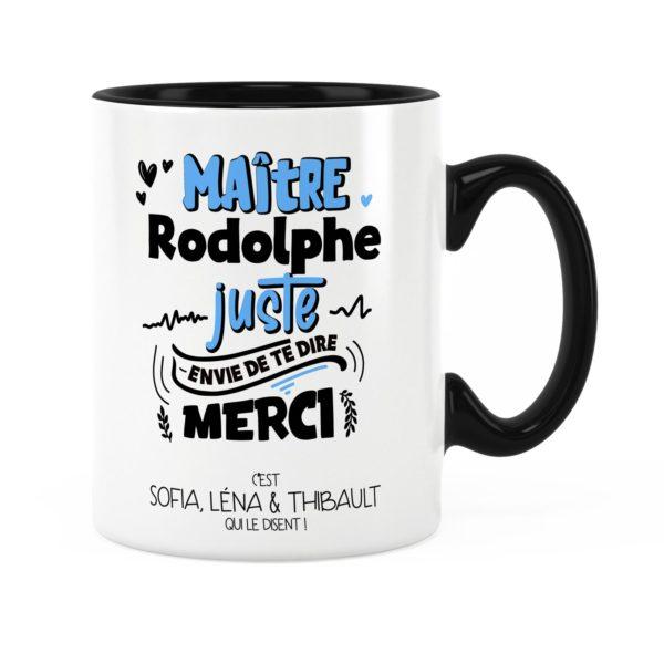 Cadeau pour maître   Idée cadeau mug maître te dire merci