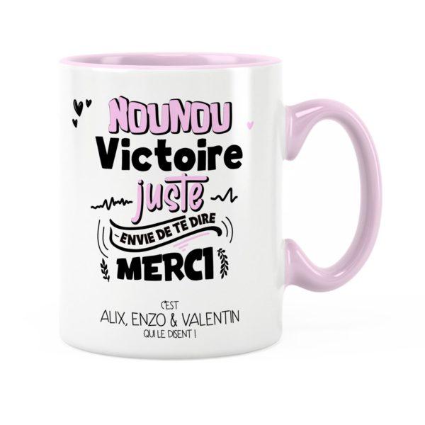 Cadeau nounou | Idée cadeau de mug nounou te dire merci